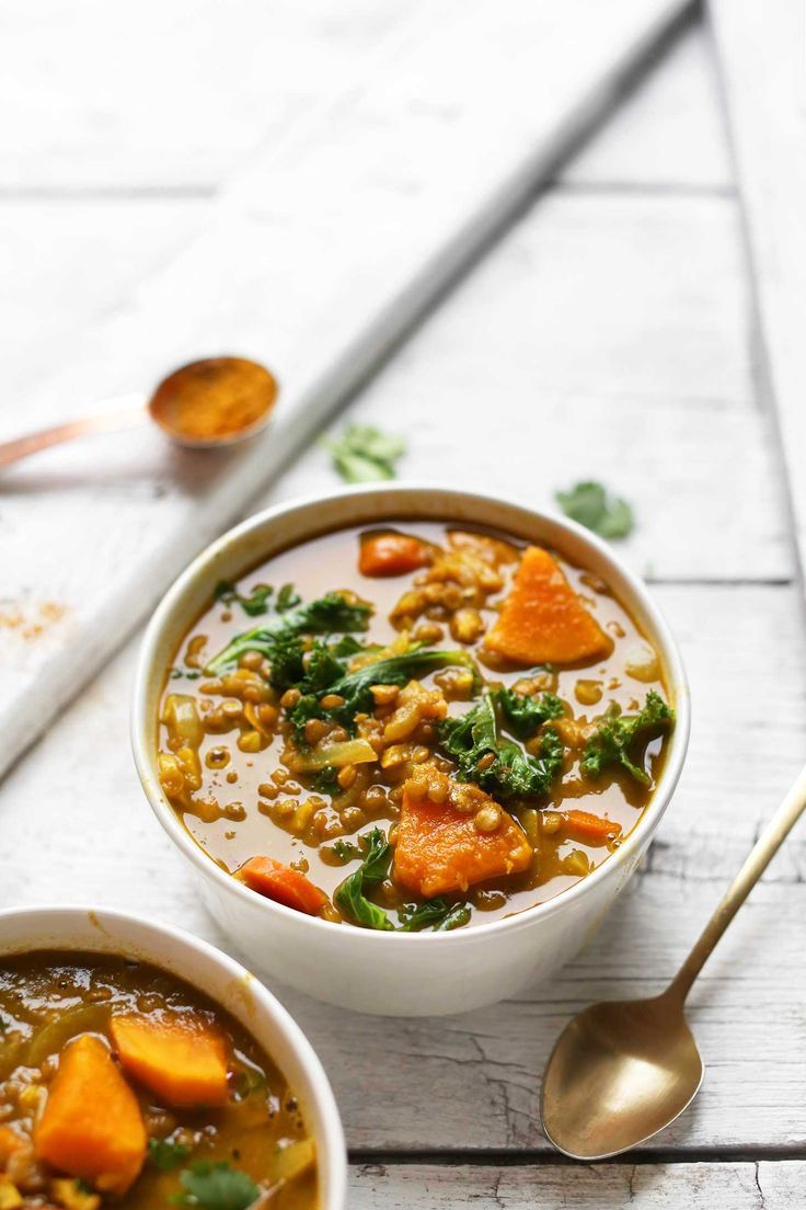 Vegetarian soups: cooking recipes with photos 78