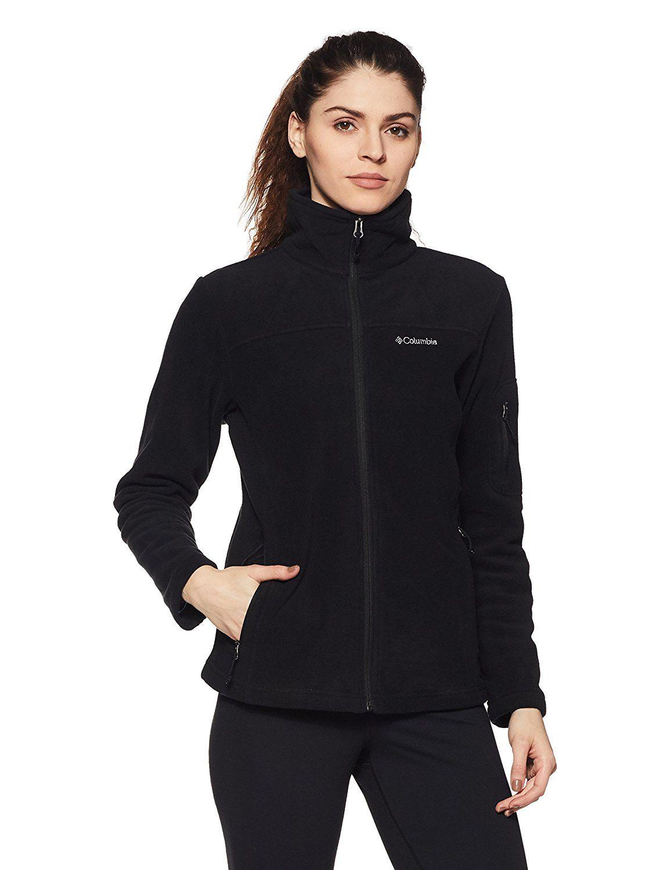 Columbia womenus fast trek ii fullzip fleece jacket polyester