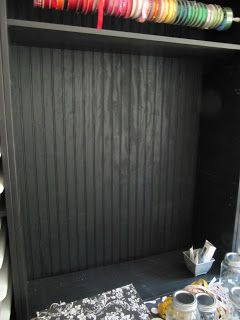 idea for a backside of a bookshelf