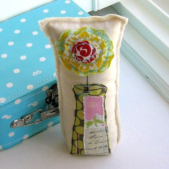 Fabric Flower by tracyBdesigns