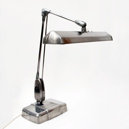 Vintage Industrial Desk Lamp By The Dazor Manufacturing Corporation Usa 1950 S Theoryofsupply Com Vintage Industrial Desk Industrial Desk Lamp Desk Lamp
