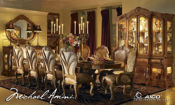 Classicdiningroomsfromaicofurniture_10  ༺✿༻Dining Room Stunning Classic Dining Rooms Review