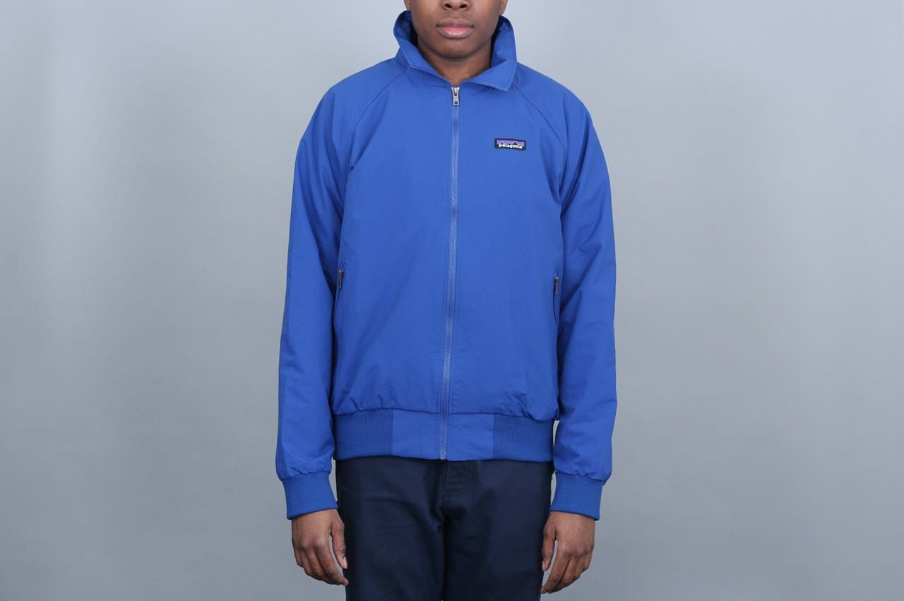 29b8c7b98e Patagonia Baggies Jacket Ink Superior Blue • Wind and weather resistant  nylon shell (38%