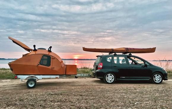 Build Your Own Teardrop Camper Kit And Plans Ao Ar Livre Carros Auto