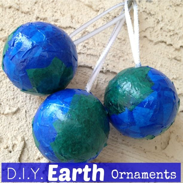 Do it yourself mini globe earth ornaments these are my do it do it yourself mini globe earth ornaments these are my do earth day projectsearth solutioingenieria Image collections