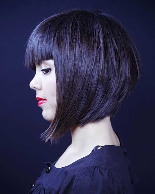 Bob Haircut And Hairstyle Ideas Bob Hairstyles With Bangs Bob Hairstyles Hairstyles With Bangs