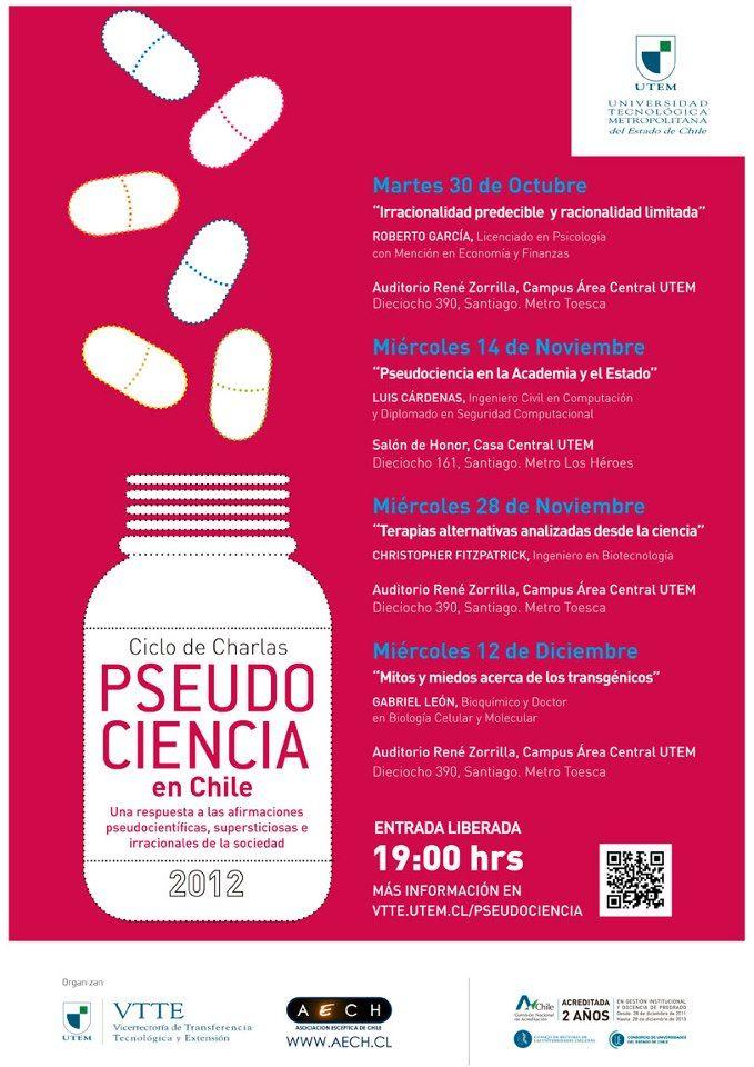 Ciclo de Charlas Pseudo Ciencia en Chile
