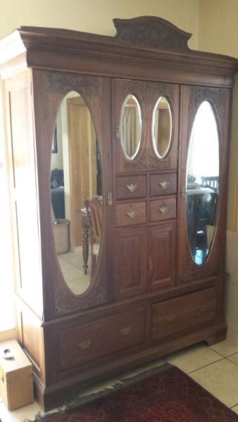 Phenomenal Antique Teak Wardrobe Bellville Gumtree South Africa Complete Home Design Collection Papxelindsey Bellcom