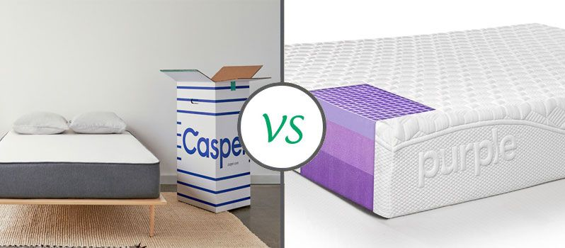 Casper Vs Purple Mattress Comparison And Review 2020 Mattress