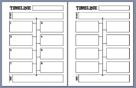 photo regarding Blank Timeline Printable named Graphic end result for blank timeline template printable