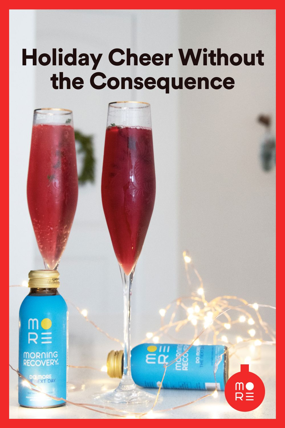 On Average Americans Consume 2x More Alcohol Over The Holidays Than Any Other Time Of Year Drink Smart With Mor Drinking Accessories Hangover Remedies Drinks