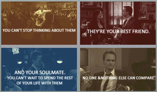 I Want A Love Like Barney Robin 3 How I Met Your Mother Barney And Robin Finding Your Soulmate