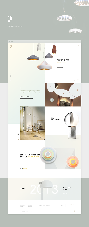 Https Www Behance Net Gallery 41064247 Penta Interior Design Website Web Layout Design Layout Design