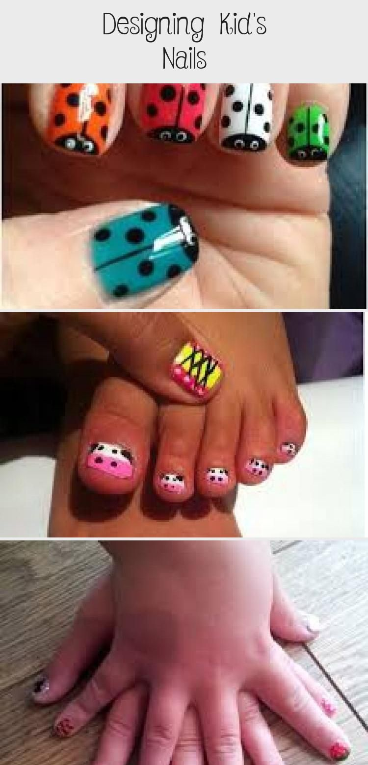 Photo of Designing Kid's Nails – Beauty