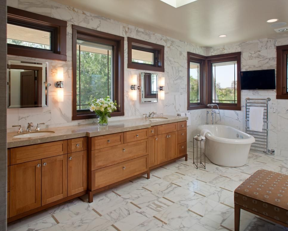 Our 40 Fave Designer Bathrooms Bathroom Ideas Craftsman