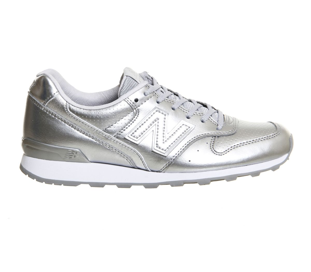New Balance 996 Silver Mono Exclusive Hers trainers