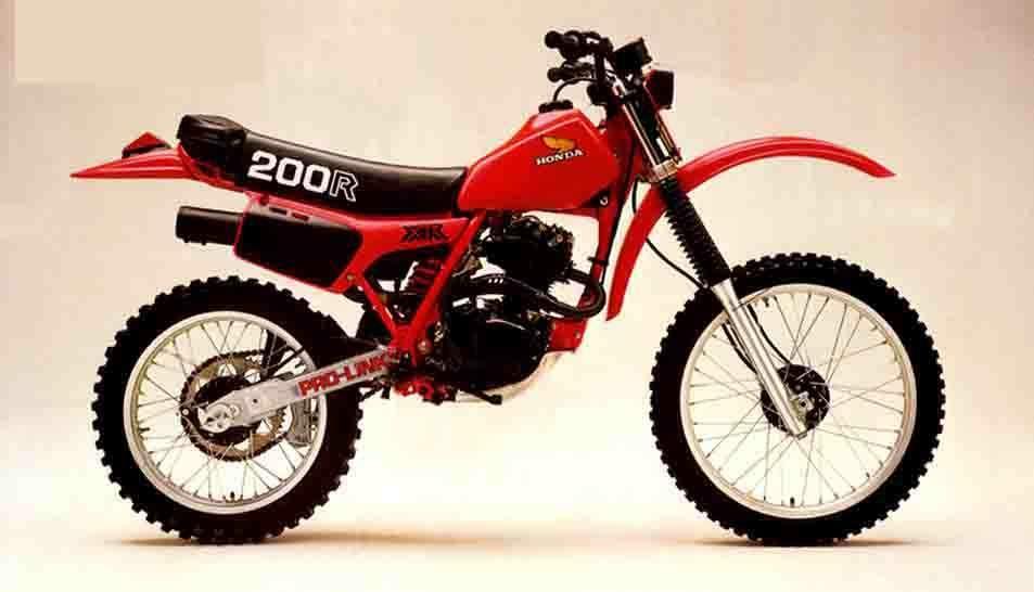 Honda Xr200r Motorcross Bike Honda Vintage Honda Motorcycles