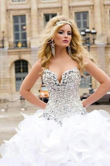 Wedding Dress For A Sparkle Addict
