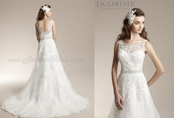 The mixture of the lace illusion top and low back make the perfect ...