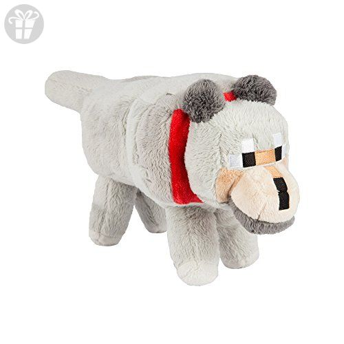 Minecraft Wolf Plush Stuffed Toy Amazon PartnerLink Fun - Minecraft spiele amazon