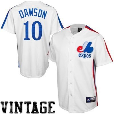 new product 8b389 1d88f Andre Dawson Montreal Expos Cooperstown Collection Baseball ...