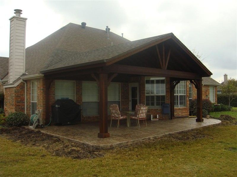 Full Gable Patio Covers Gallery Highest Quality Waterproof Patio Covers In Dallas Plano And Surrounding Texas Tx Pergola Pergola Patio Pergola On The Roof