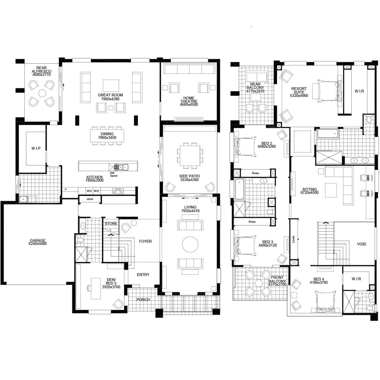 Acreage Home Design Grange By Masterton Homes House Layout Plans House Design House Blueprints