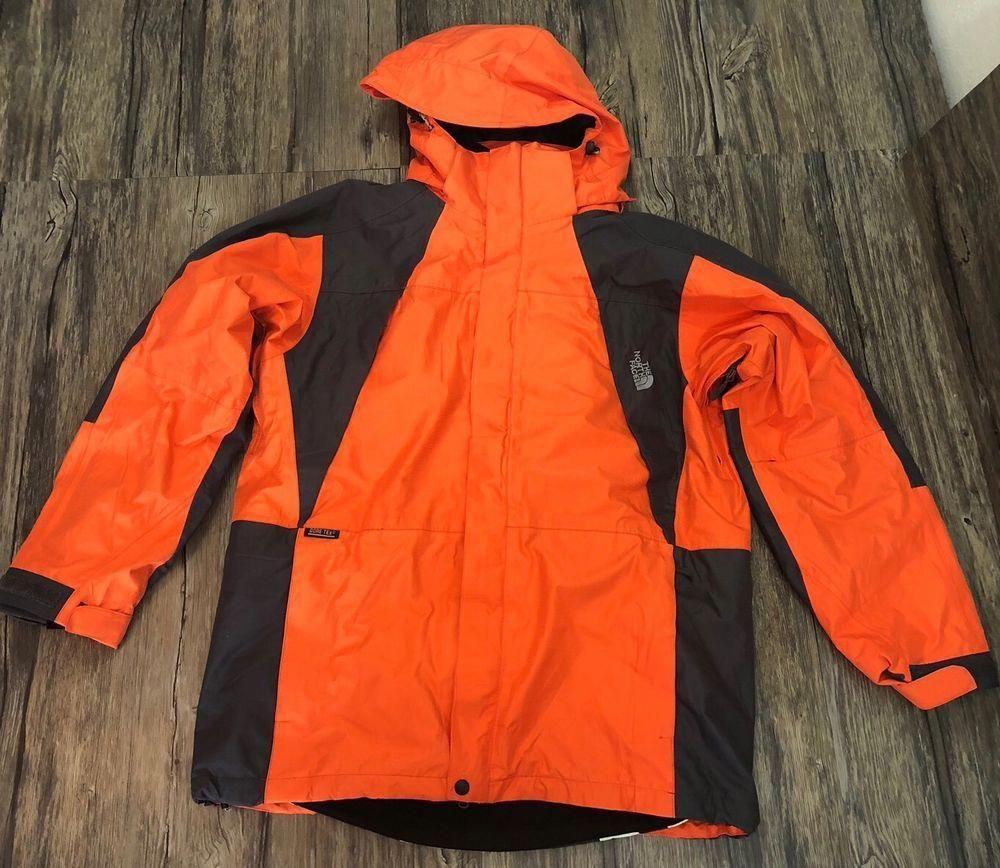 North Face Jacket Gore Tex Summit Series Orange Black Xl Mens 29 Northface Skisnowboarding Blackmensfashion [ 868 x 1000 Pixel ]