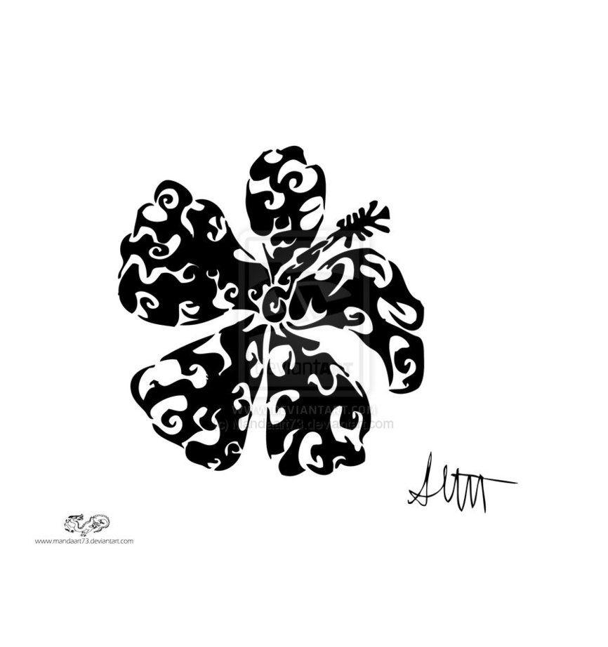 Free hawaiian flower tattoo designs picture 1 tattoos pinterest free hawaiian flower tattoo designs picture 1 izmirmasajfo