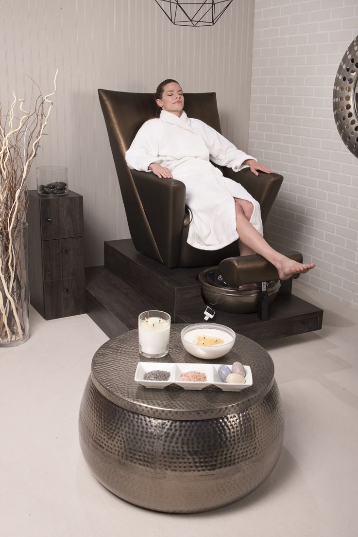 Pediküre Sessel Elevate Pedicure Spa No Plumbing With Electrical Lift To Raise