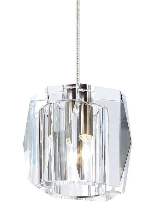 Elegance Takes Form In This Hand Carved Solid Crystal Pendant Inspired By Current Trends Of Asymmetrical Fa Crystal Pendant Lighting Lbl Lighting Pendant Light