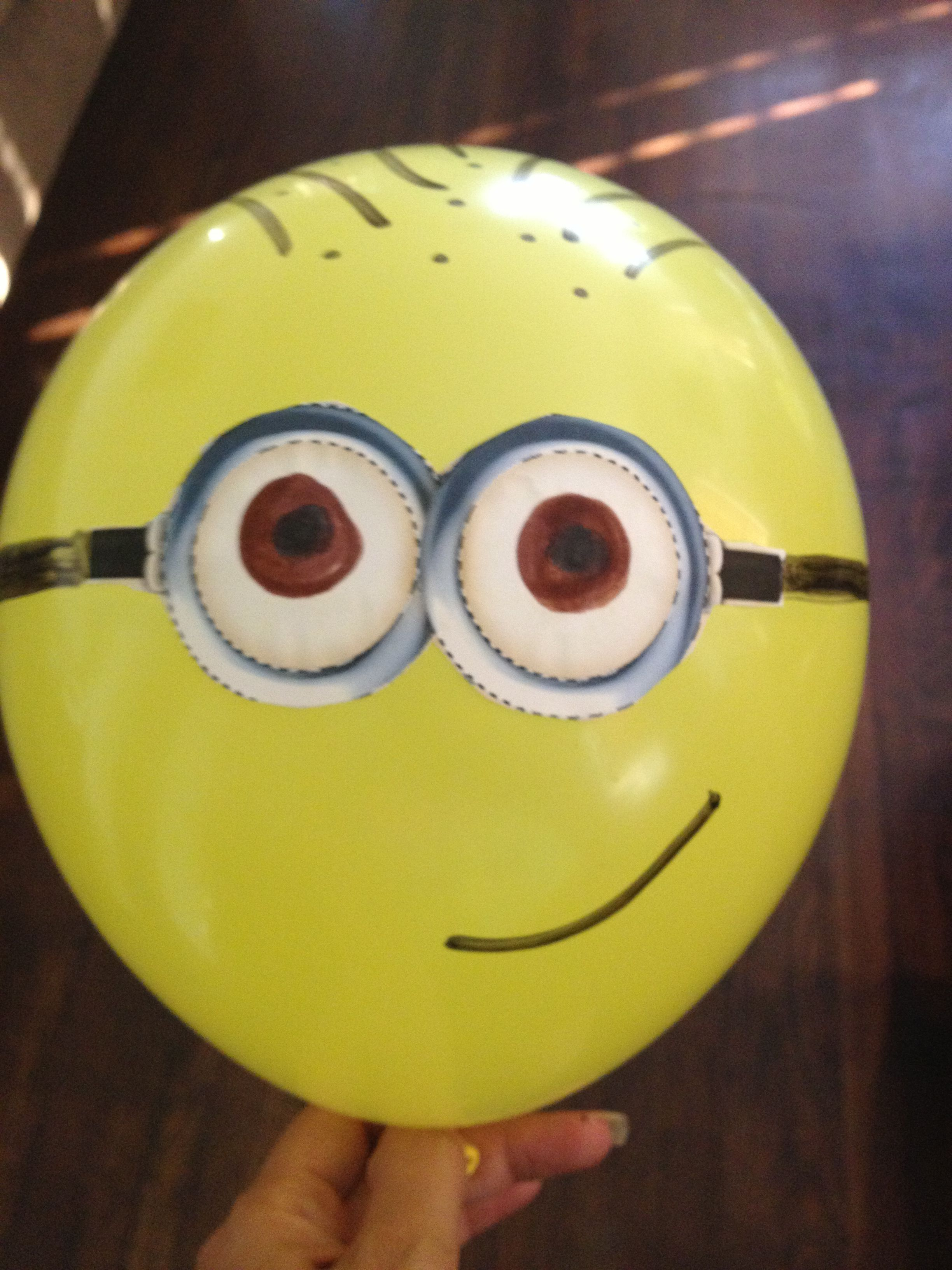 diy minion balloons craft pinterest minion balloons science