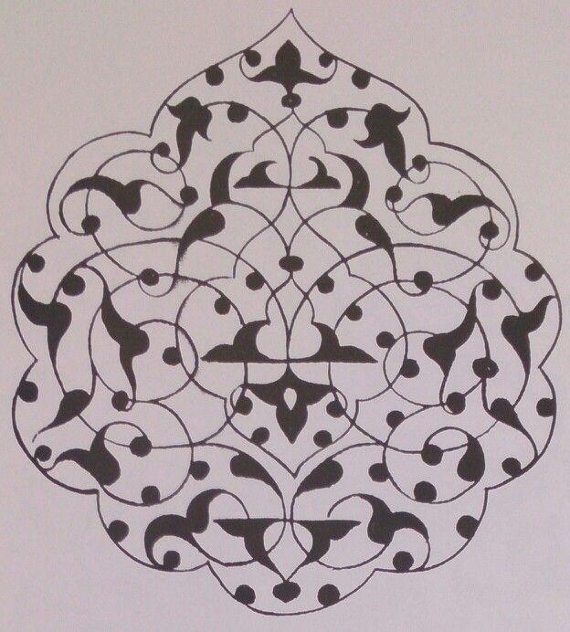 рисунок арабески картинки первая