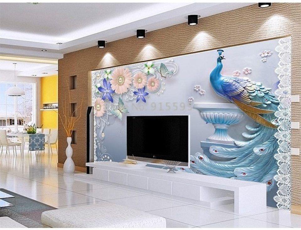 اخر موديلات ورق الجدران الخاص بغرف النوم و غرف المعيشة 2019 Design Living Room Wallpaper Wallpaper Designs For Walls 3d Wallpaper Living Room