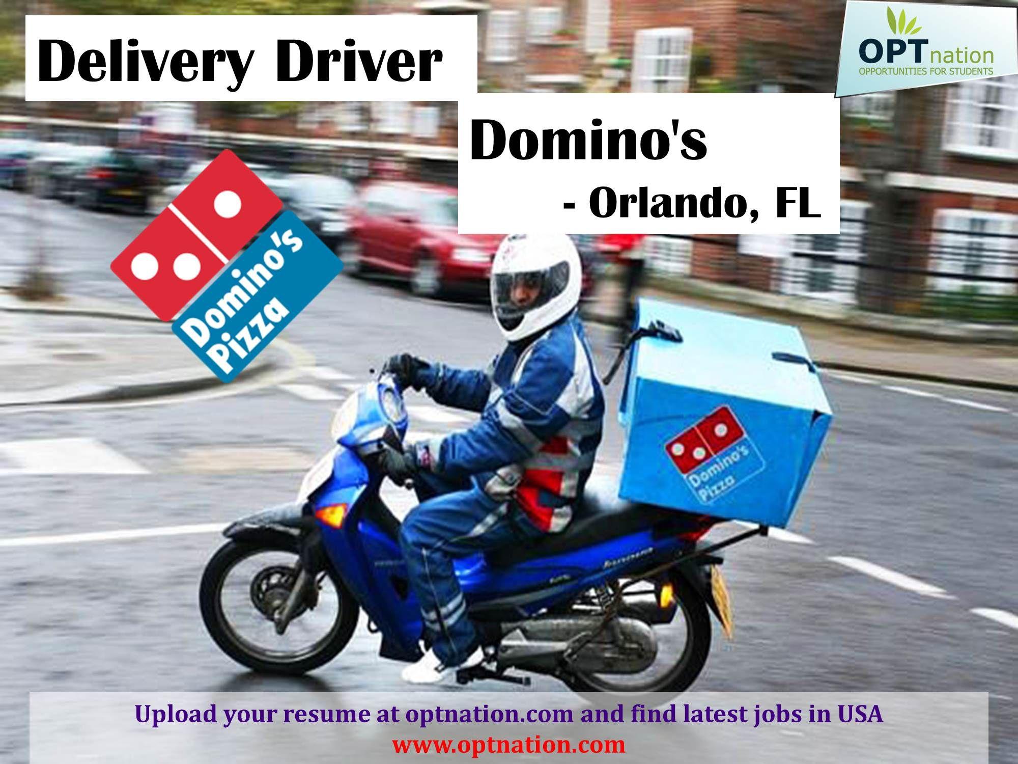 Delivery driver dominos orlando fl 32808 httpwww