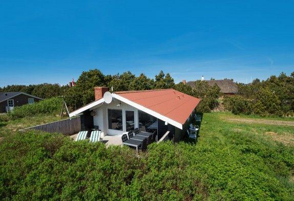 Ferienhaus mit geschlossener Terrasse ideal mit Hund