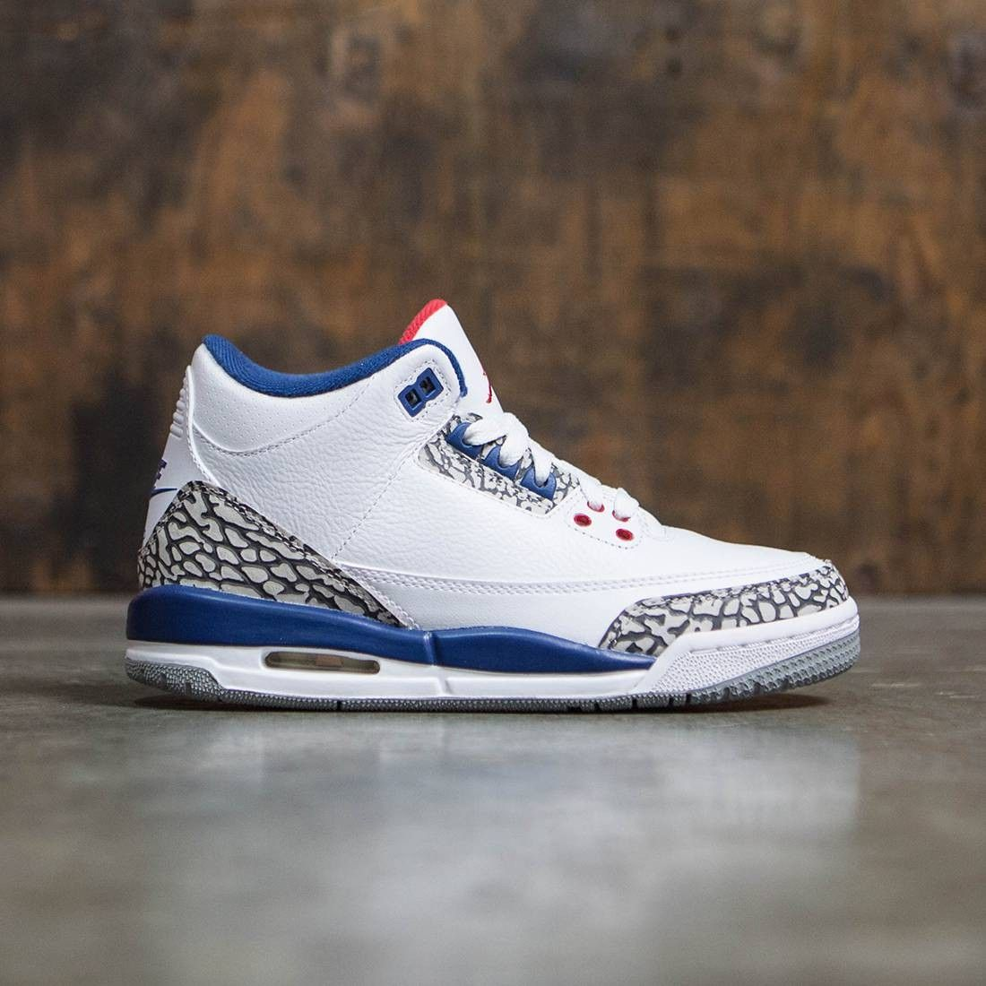 Footwear · Jordan Big Kids AIR JORDAN 3 RETRO OG BG True Blue (white ...