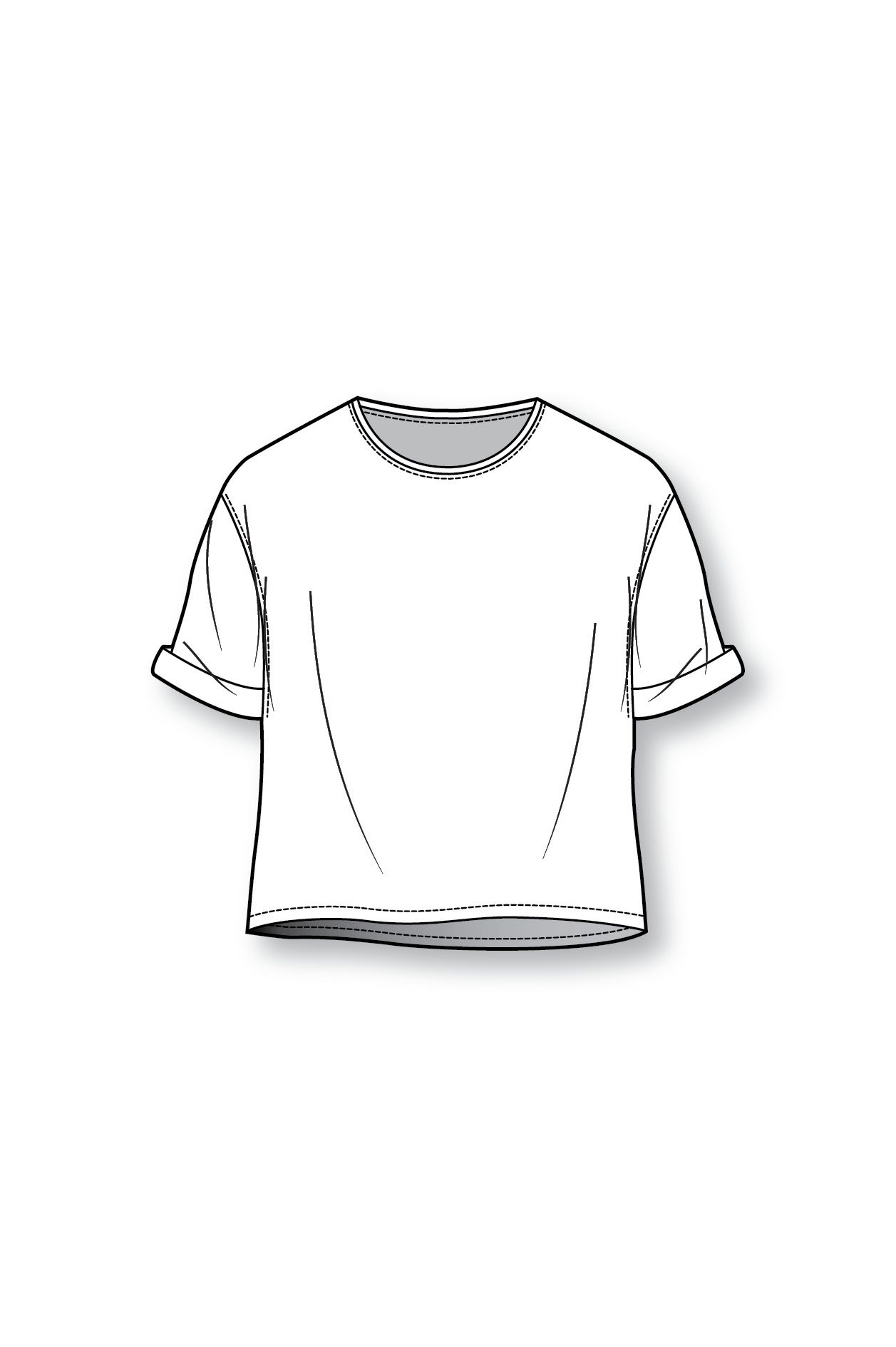 Scribble Drawing T Shirt : Boxy t shirt patternmaking pinterest sketches