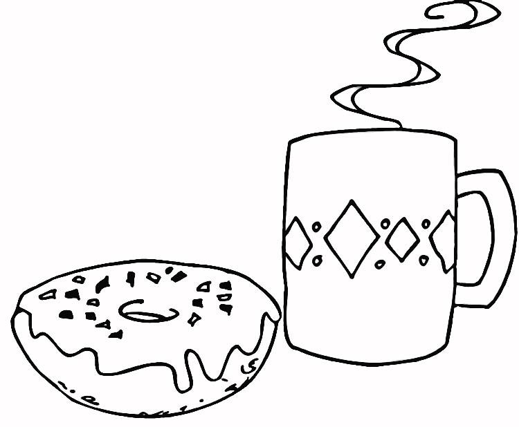 dunkin donuts coloring pages by teresa
