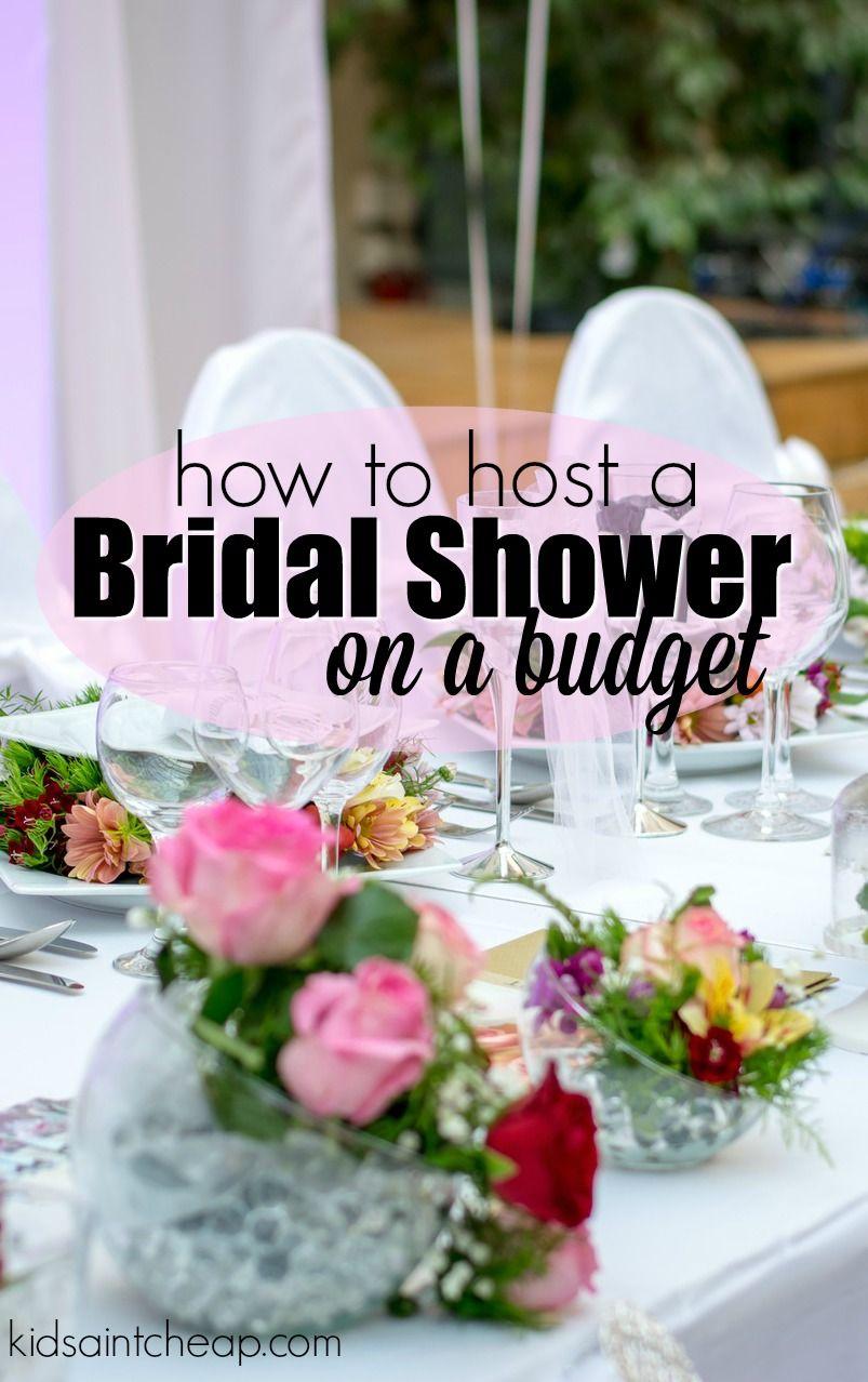 Hosting A Bridal Shower On A Budget Bridal Shower Planning