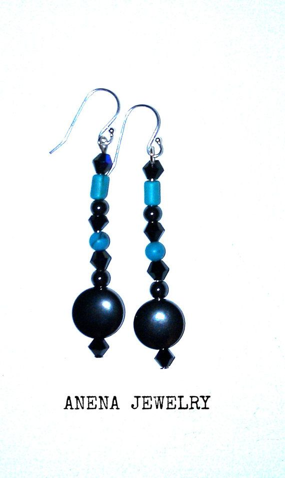 Hey, I found this really awesome Etsy listing at https://www.etsy.com/listing/207373551/earrings-genuine-turquoise-hematite-and