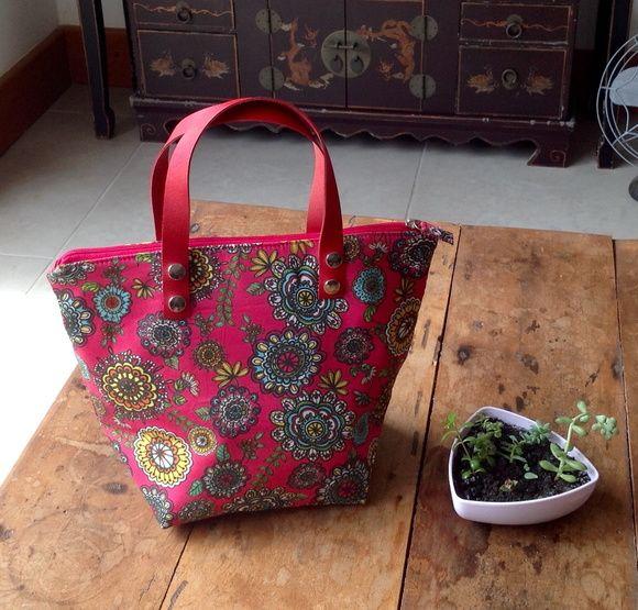Bolsa de mão Floral