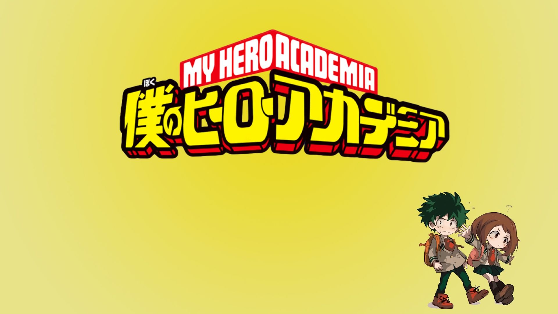 A quick wallpaper I put to her [My Hero Academia] Need