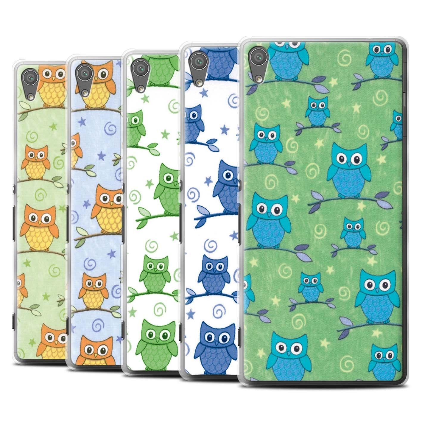 STUFF4 Phone Case Cover for Sony Xperia XA Ultra F3212 F3216 Cute Owl Pattern