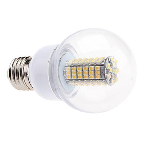 E27 5 5W 102x3528 SMD 500 550LM 2700 3500K Warm White Light LED Ball Awesome - Simple electric light bulb Ideas