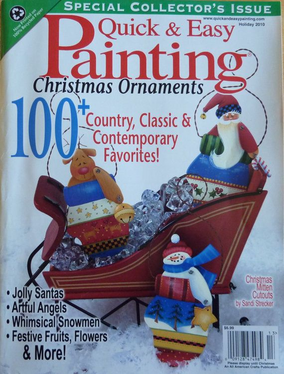 Quick Easy Painting Magazine 100 Christmas Patterns