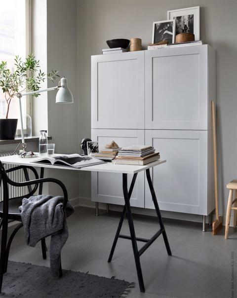 7 alle m bel an die wand stellen wohnung pinterest m bel arbeitszimmer und schreibtisch. Black Bedroom Furniture Sets. Home Design Ideas