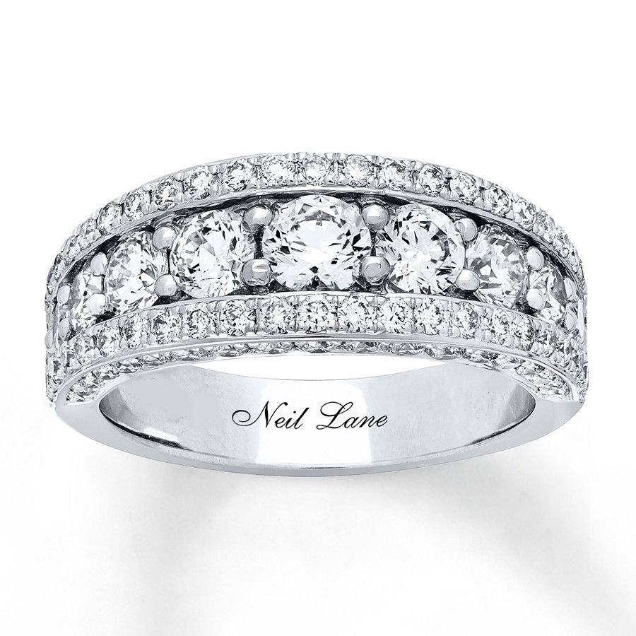 Neil Lane Bridal Set 23/8 ct tw Diamonds 14K White Gold