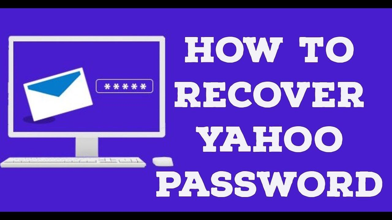 How To Recover Yahoo Password Without Phone Number Account
