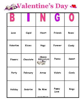 valentine bingo bundle pinterest valentine bingo bingo card